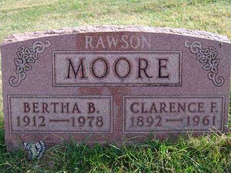 MOORE, BERTHA B. - Warren County, Iowa | BERTHA B. MOORE