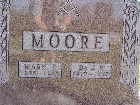 MOORE, J. H. - Warren County, Iowa | J. H. MOORE