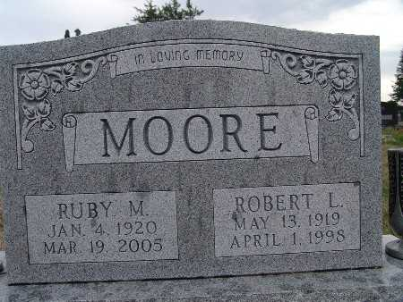 MOORE, RUBY M. - Warren County, Iowa | RUBY M. MOORE
