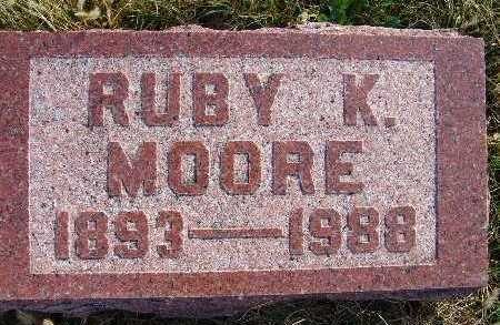 MOORE, RUBY K. - Warren County, Iowa | RUBY K. MOORE