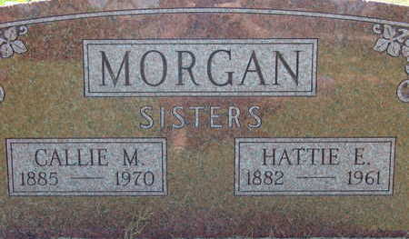 MORGAN, HATTIE E - Warren County, Iowa | HATTIE E MORGAN