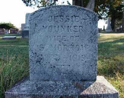 MORROW, JESSIE YOUNKER - Warren County, Iowa   JESSIE YOUNKER MORROW