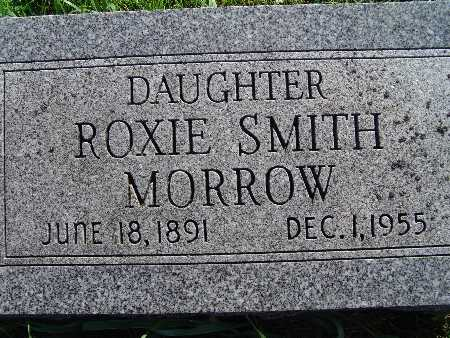 MORROW, ROXIE SMITH - Warren County, Iowa | ROXIE SMITH MORROW
