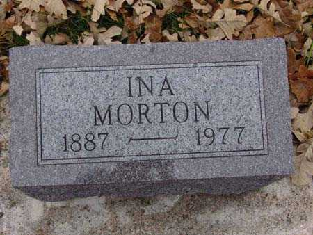 MORTON, INA - Warren County, Iowa | INA MORTON