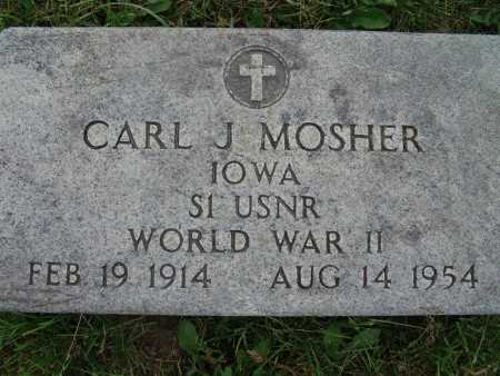 MOSHER, CARL J. - Warren County, Iowa | CARL J. MOSHER