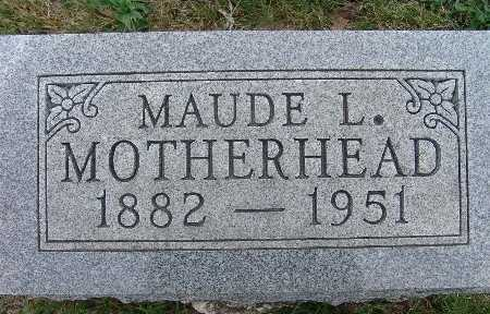 MOTHERHEAD, MAUDE L. - Warren County, Iowa | MAUDE L. MOTHERHEAD