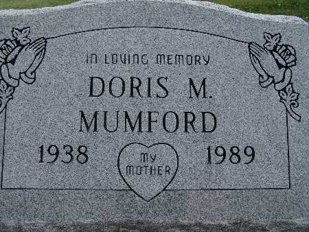 MUMFORD, DORIS M. - Warren County, Iowa | DORIS M. MUMFORD