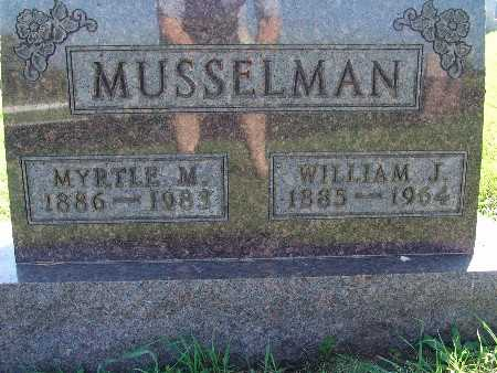 MUSSELMAN, WILLIAM J - Warren County, Iowa | WILLIAM J MUSSELMAN