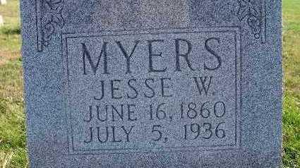 MYERS, JESSE W. - Warren County, Iowa | JESSE W. MYERS