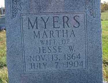 MYERS, MARTHA - Warren County, Iowa | MARTHA MYERS