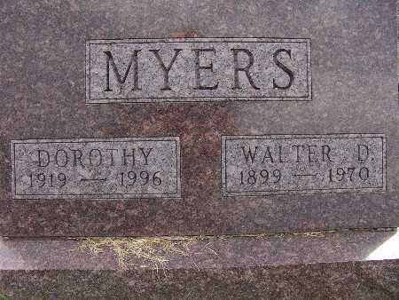 MYERS, DOROTHY - Warren County, Iowa | DOROTHY MYERS
