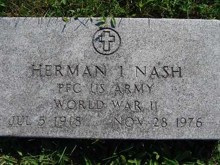 NASH, HERMAN I - Warren County, Iowa | HERMAN I NASH