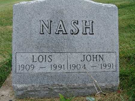 NASH, LOIS - Warren County, Iowa | LOIS NASH