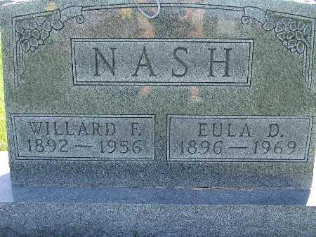 NASH, EULA D - Warren County, Iowa | EULA D NASH