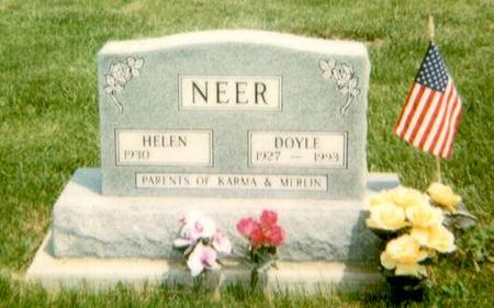 NEER, HELEN - Warren County, Iowa | HELEN NEER