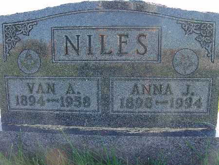 NILES, VAN A. - Warren County, Iowa | VAN A. NILES