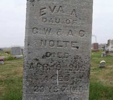 NOLTE, EVA A. - Warren County, Iowa | EVA A. NOLTE