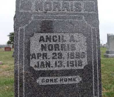 NORRIS, ANCIL A. - Warren County, Iowa | ANCIL A. NORRIS