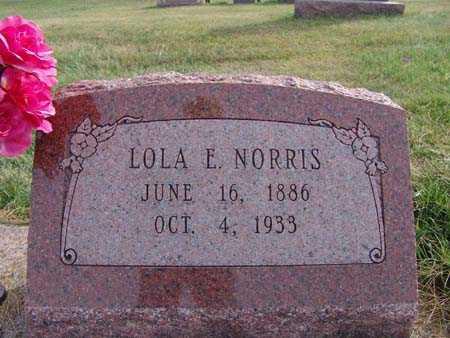 NORRIS, LOLA E. - Warren County, Iowa | LOLA E. NORRIS