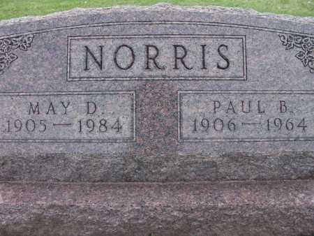 NORRIS, MAY D. - Warren County, Iowa | MAY D. NORRIS