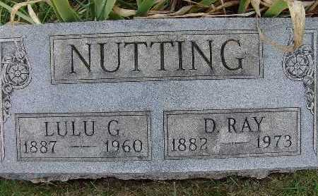 NUTTING, D. RAY - Warren County, Iowa | D. RAY NUTTING