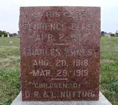 NUTTING, FLORENCE ELLEN - Warren County, Iowa | FLORENCE ELLEN NUTTING