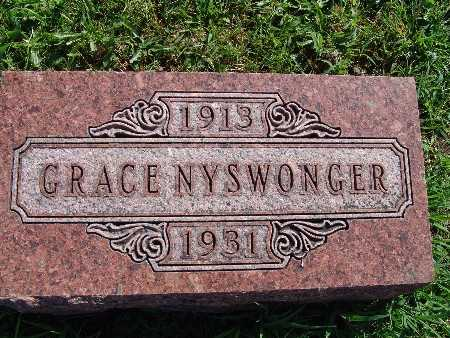 NYSWONGER, GRACE - Warren County, Iowa | GRACE NYSWONGER