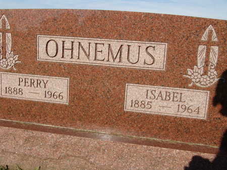 OHNEMUS, ISABEL - Warren County, Iowa | ISABEL OHNEMUS