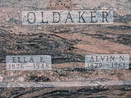 TALLMAN OLDAKER, ELLA E. - Warren County, Iowa | ELLA E. TALLMAN OLDAKER