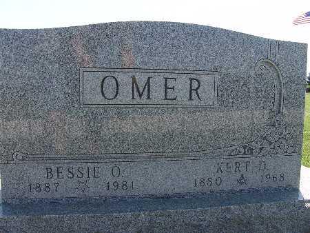 OMER, BESSIE O. - Warren County, Iowa | BESSIE O. OMER