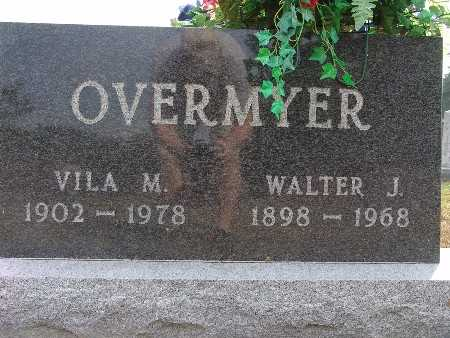 OVERMYER, WALTER J. - Warren County, Iowa | WALTER J. OVERMYER