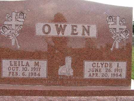 OWEN, CLYDE I. - Warren County, Iowa | CLYDE I. OWEN