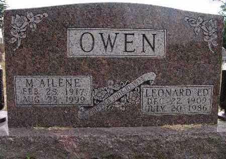 OWEN, M. AILENE - Warren County, Iowa | M. AILENE OWEN