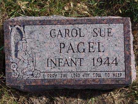 PAGEL, CAROL SUE - Warren County, Iowa | CAROL SUE PAGEL
