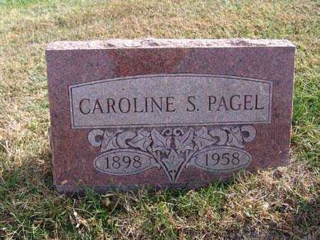 PAGEL, CAROLINE S. - Warren County, Iowa | CAROLINE S. PAGEL