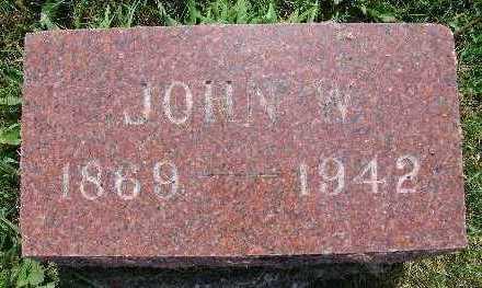 PARKER, JOHN W. - Warren County, Iowa | JOHN W. PARKER