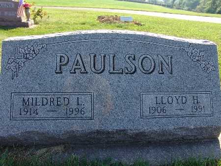 PAULSON, LLOYD H. - Warren County, Iowa | LLOYD H. PAULSON