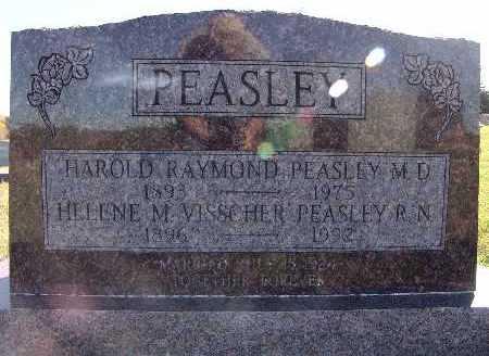 PEASLEY, HELENE M. VISSCHER - Warren County, Iowa | HELENE M. VISSCHER PEASLEY