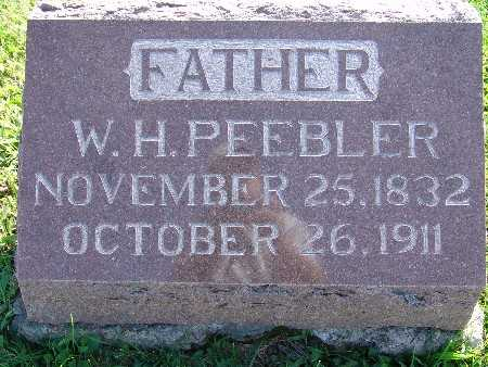 PEEBLER, W. H. - Warren County, Iowa | W. H. PEEBLER