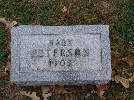 PETERSON, BABY - Warren County, Iowa | BABY PETERSON