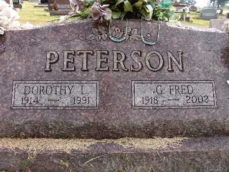 PETERSON, G. FRED - Warren County, Iowa | G. FRED PETERSON