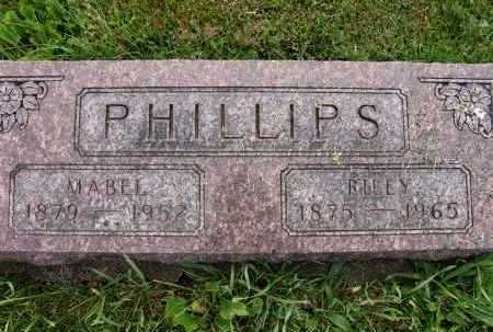 PHILLIPS, MABEL - Warren County, Iowa | MABEL PHILLIPS