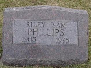 PHILLIPS, RILEY SAM - Warren County, Iowa | RILEY SAM PHILLIPS