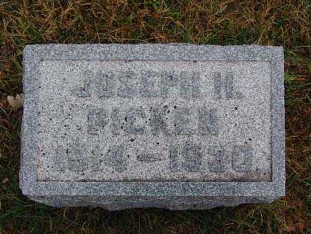 PICKEN, JOSEPH H. - Warren County, Iowa | JOSEPH H. PICKEN
