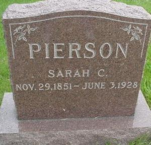 PIERSON, SARAH C. - Warren County, Iowa | SARAH C. PIERSON