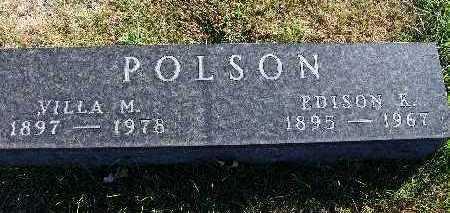 POLSON, VILLA M. - Warren County, Iowa | VILLA M. POLSON