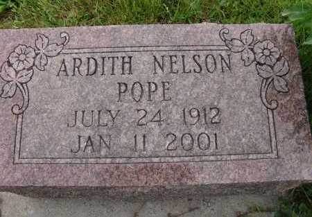 NELSON POPE, ARDITH - Warren County, Iowa | ARDITH NELSON POPE