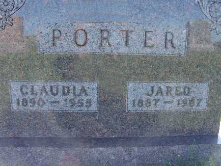 PORTER, CLAUDIA - Warren County, Iowa | CLAUDIA PORTER