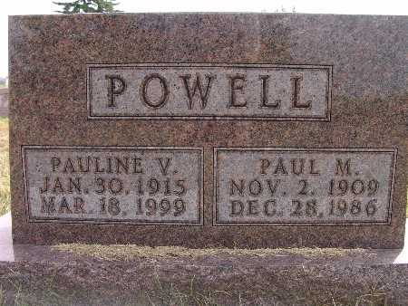 POWELL, PAULINE V. - Warren County, Iowa | PAULINE V. POWELL