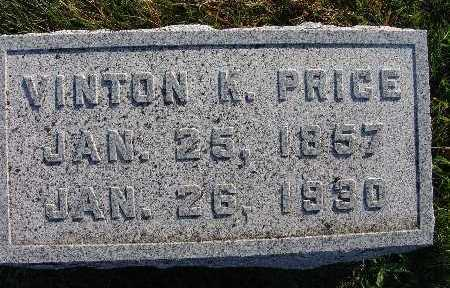 PRICE, VINTON K. - Warren County, Iowa | VINTON K. PRICE